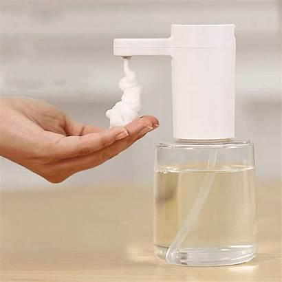 Soap Liquid Automatic Dispenser Foaming Colors Washing