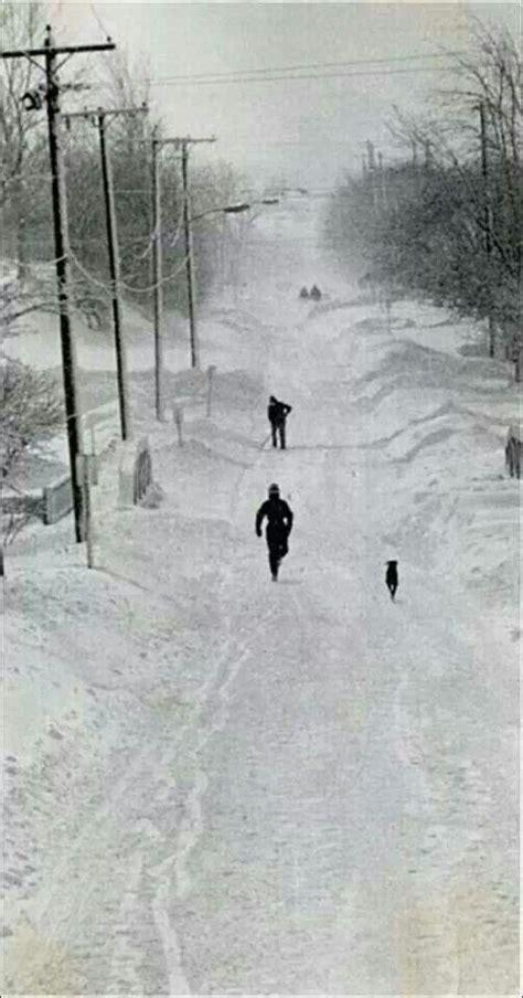 Snow Blizzard 1978 Toledo Ohio