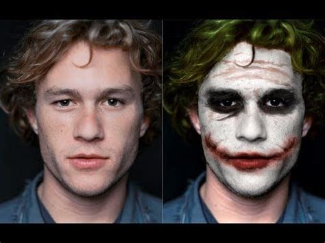 joker heath ledger style youtube