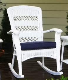 outdoor patio garden plantation style rocking chair in