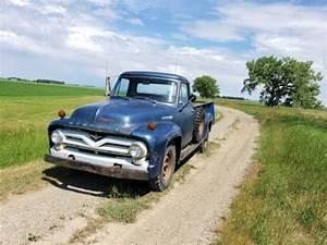 1955 Mercury M350 Ford F100 F350 V8 Barn Find Original