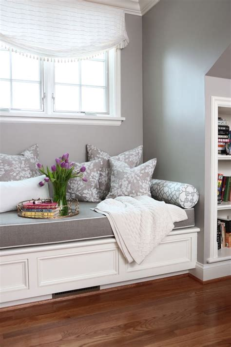 Window Bench Design by Image Result For Light Grey Window Seat Decorating Ideas