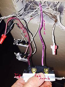 Electrical - Ceiling Fan Universal Remote Wall Switch Install    Which Wires
