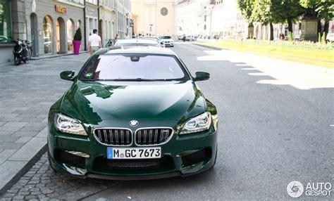 dark green bmw dark green bmw m6 gran coupe is utter uniqueness