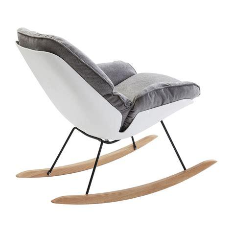 fauteuil 224 bascule scandinave gris alicante kare design