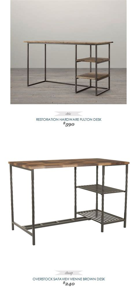 restoration hardware fulton desk copycatchicfinds restorationhardware fulton desk 590