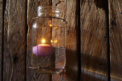 floating candle mason jar  steps