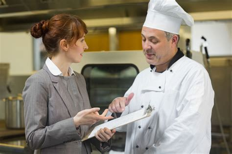 fiche de poste chef de partie cuisine manager en restauration salaire études rôle