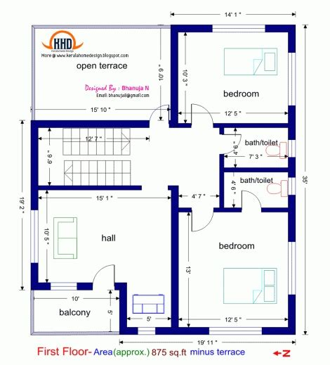 1000 sq ft house plans 2 bedroom indian style marvelous 1000 sq ft house plans 2 story indian style arts