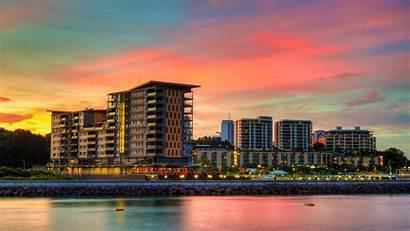Darwin Australia Waterfront Luxury Suites Centre Around