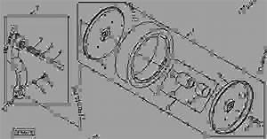 Gauge Wheel  Bearing  And Tire  B07