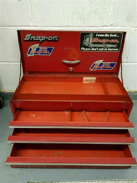 snap  vintage tool box small  worcester