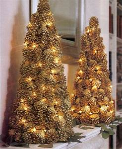Weihnachtsbaum Deko Basteln : wundersch ne diy weihnachtsdeko bastelideen mit tannenzapfen ~ Lizthompson.info Haus und Dekorationen