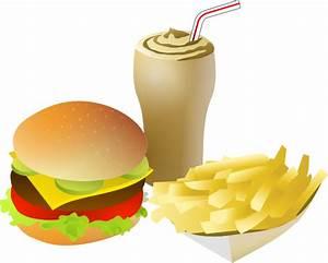Menu Fast Food Clipart - The Cliparts