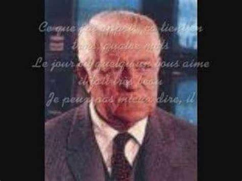 jean gabin hommage hommage a monsieur jean gabin youtube