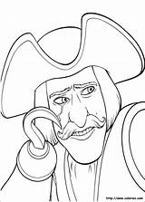 Shrek Crochet Coloriage Capitaine Colorir Colorare Desenhos Coloring Dibujos Colorear Pintar Imagens Coeur Tercero Terceiro Ausmalbilder Disegni Dritte Tegninger Imprimir sketch template