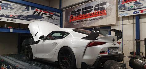 Toyota Supra Mk5 Mps Carbon Retro Spoiler Wing Trd Style