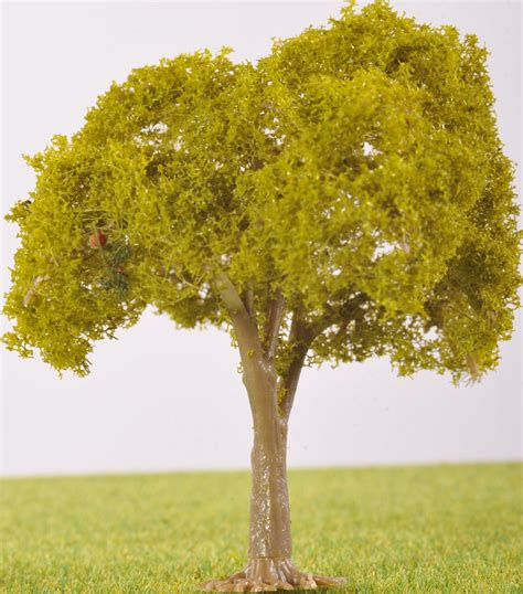Pl25102  80mm Light Green Fruit Tree  No Fruit The