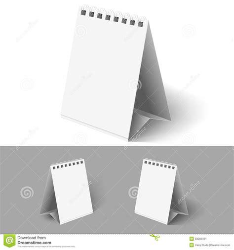 blank flip calendars stock image image