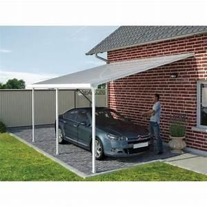 Toit Terrasse Aluminium : toit couv 39 terrasse en aluminium adoss 4x8 m achat ~ Edinachiropracticcenter.com Idées de Décoration
