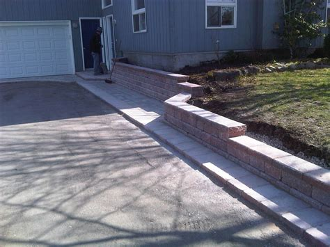 retaining wall cost estimate retaining walls toronto 905 761 7315 nortown paving construction