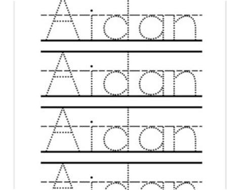 free printable name tracing templates preschool name tracing worksheets worksheets for all and worksheets free on