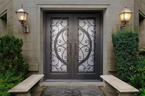 rod iron doors wrought iron doors building material