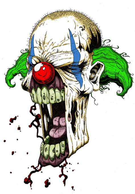 zombie clown  corporatefilth  newgrounds