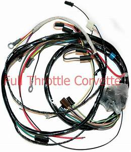 1971 Corvette Engine Wiring Harness Manual Trans New