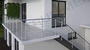 Treppengeländer Selber Bauen Stahl : edelstahlgel nder baus tze f r balkongel nder ~ Lizthompson.info Haus und Dekorationen