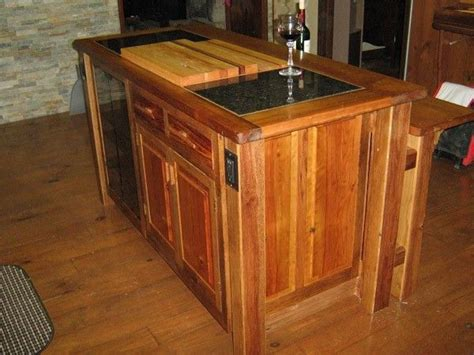 kitchen island made from reclaimed wood crafted kitchen island reclaimed oak barn wood