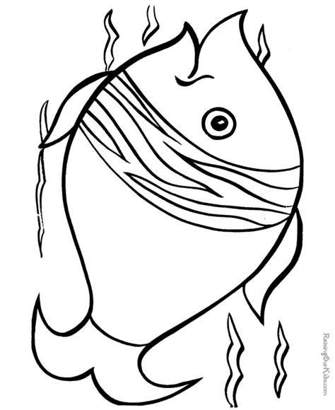 Animal Coloring Pages Fish