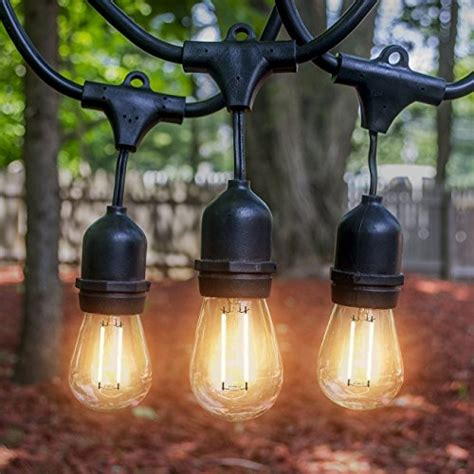 heavy duty outdoor led lights led outdoor indoor edison style string lights