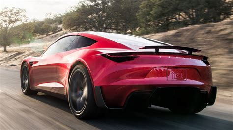 Tesla Roadster In Pictures Elon Musk's Surprise Package