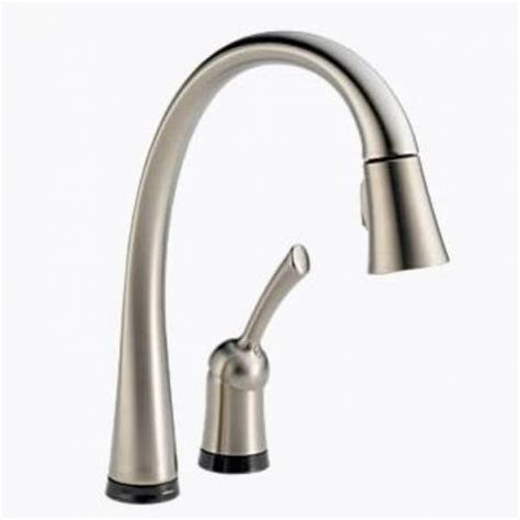 delta touch20 kitchen faucet delta pilar single handle pull kitchen faucet with