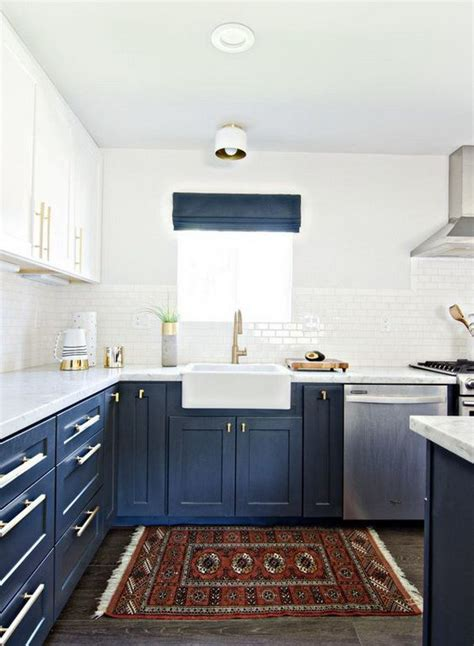 two color kitchen 35 two tone kitchen cabinets to reinspire your favorite 2991