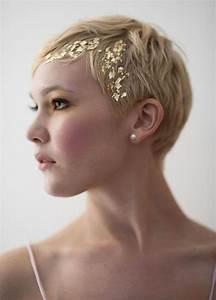 Accessoires Cheveux Courts : coiffure mariage cheveux court laissez vous inspirer ~ Preciouscoupons.com Idées de Décoration