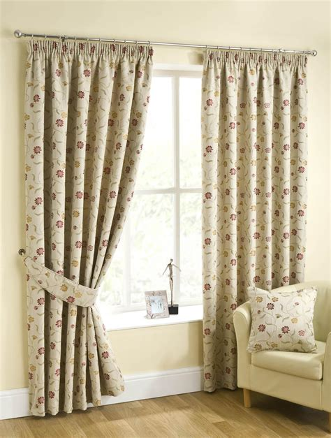 tay ready made lined curtains chintz free uk delivery