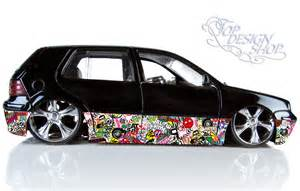 autofolien design jdm sticker bomb car interior design
