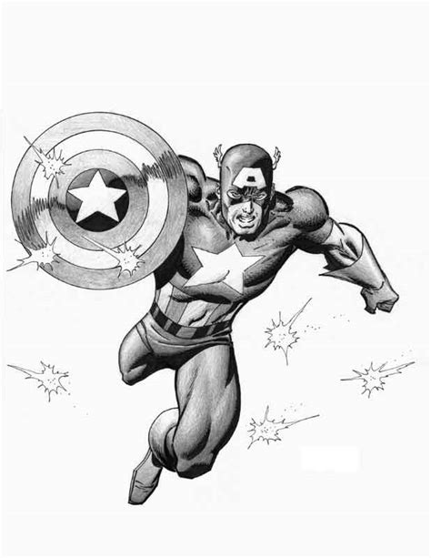105 Captain America Tattoo Designs and Ideas for Marvel