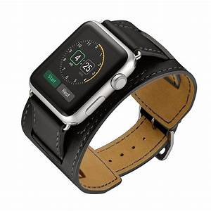 Leather strap watch band for hermes apple watch 42mm/38mm ...