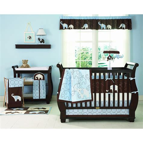 baby elephant crib bedding product review s elephant 4 crib bedding set