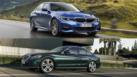 Bmw C 2019 by 2019 Bmw 3 Series Vs 2019 Mercedes C Class Top Speed