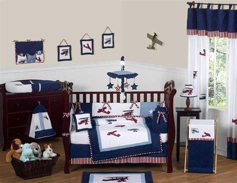 Aviator Crib Bedding aviator 9pc crib bedding collection