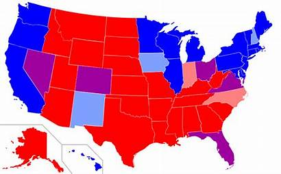 Political States Map State Leanings Republican Parties