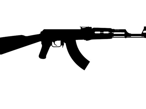 Ak 47 Clipart Ak 47 One Gun Clip Vector Clip Royalty
