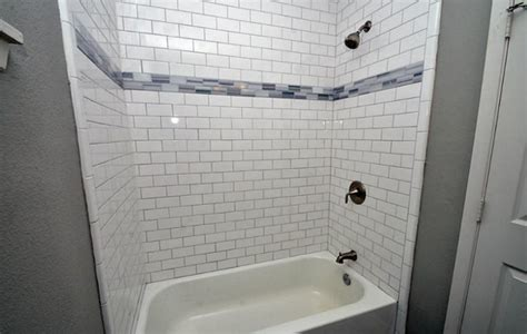 shower tub subway tile ideas subway tile shower design to beautify your bathroom area Shower Tub Subway Tile Ideas