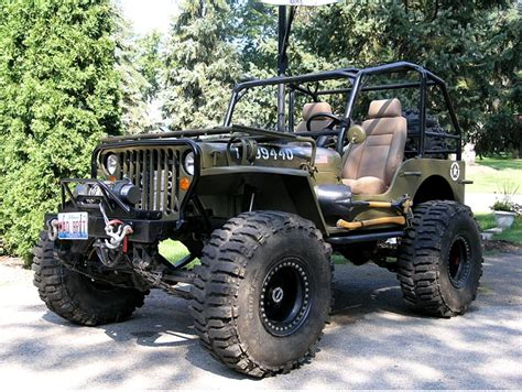 Modifikasi Willys Offroad by Willys Jeep Crawling