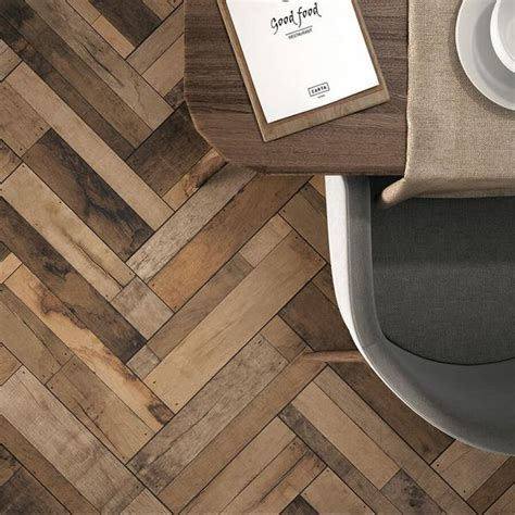 Wood Effect Floor Tiles by Spain's Azulindus to Transform