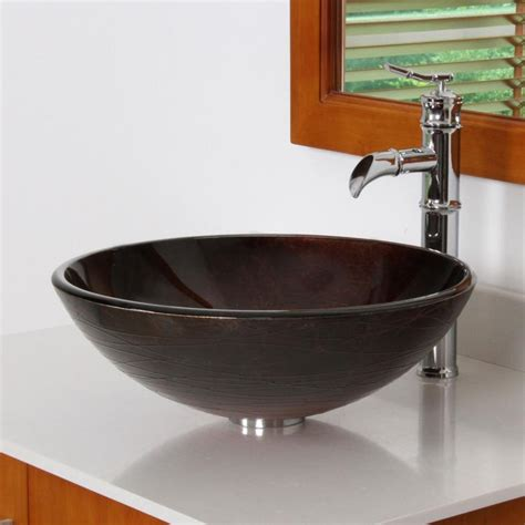 is a mounting ring necessary for vessel sink new elite chrome mounting ring bathroom glass vessel sink